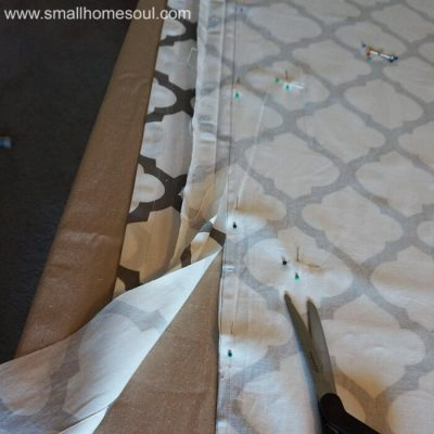 Simple French Door Curtains Easy to Make and Hang