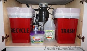 Create a New Kitchen Recycling Center in 10 Minutes