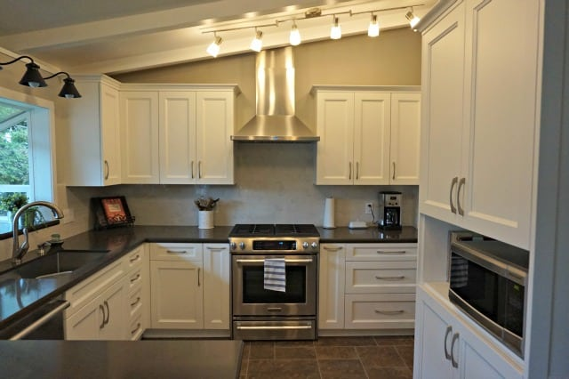 Kitchen Renovation Done Stove