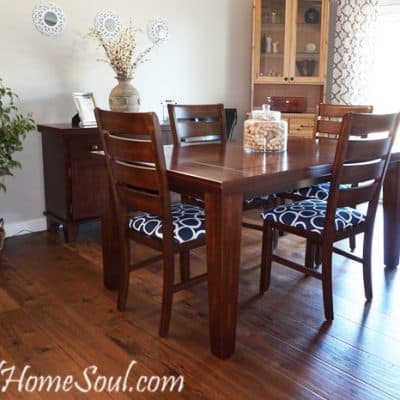 Reupholster Your Dining Chairs and Save $200
