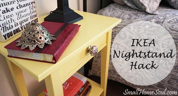 Hacked Ikea Nightstands From Blah to Ahhh Small Home Soul
