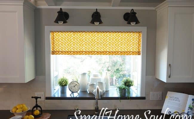 Easy Lined Kitchen Curtains