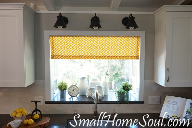 Merveilleux Easy Kitchen Curtains, And Theyu0027re Lined Too! From Www.smallhomesoul.