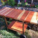 Make a Patio Cart from an Old BBQ