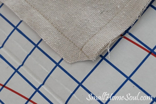 Stenciled-Drop-Cloth-Pillow-Cover-Corners