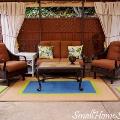 Drop Cloth Curtains – My Patio Refresh Part 3