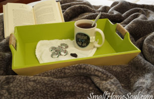 Beachy Serving Tray Makeover