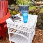 Wicker Table Repair – My Patio Refresh Part 2