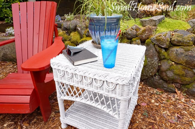 Check Out Part 2 Of My Patio Refresh Series Which Includes Repairing A Wicker  Table And U2026
