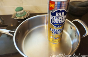 Every kitchen needs Bar Keepers Friend