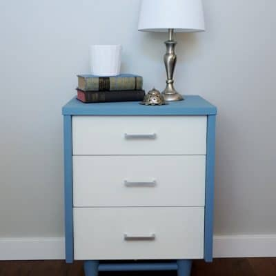 Mid Century Modern Milk Paint Makeover