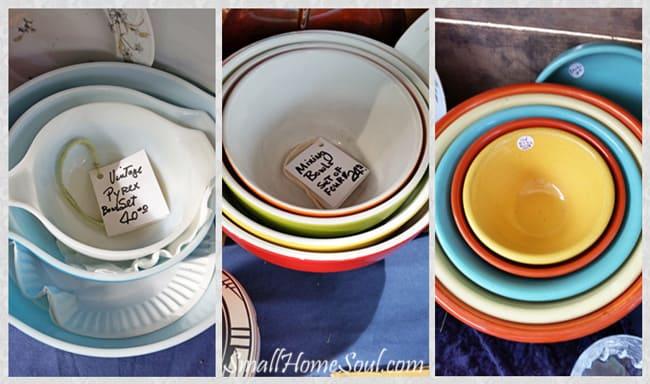 Antique Fair Nesting Bowls for sale