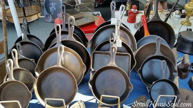 Antique Fair Cast Iron Skillets