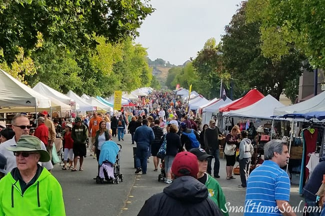 Shopping at an Antique Fair is like walking through history. They're loaded with great old antiques and reminders of our past, as well as new crafts and creations to suit every taste....www.smallhomesoul.com