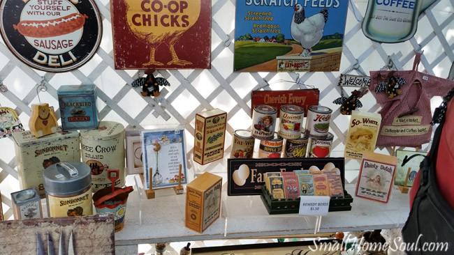 Antique Fair Food Packages