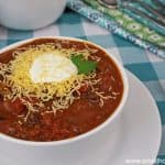Easy Chili with Beans over Rice – Mouth Watering Comfort Food