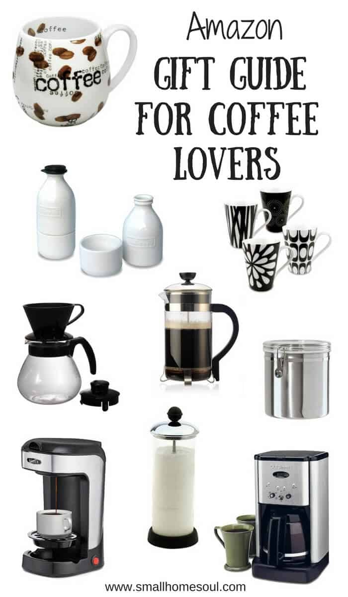 This Coffee Lover's Gift Guide has everything you need to brew the perfect cup of coffee!