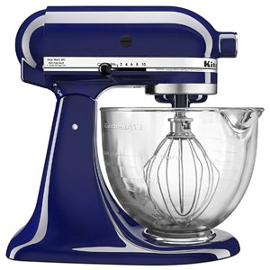 Image of Purple Kitchenaid mixer