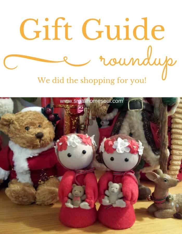 Need a gift? This Holiday Gift Guide Roundup is what you need. And these gift ideas work for any time of year.