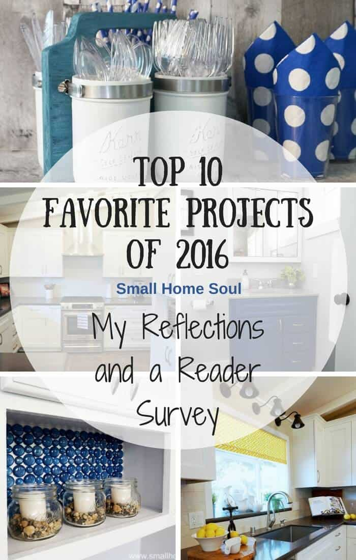 I'm sharing my 2016 Top Ten Projects