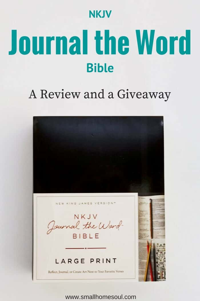 This NKJV Journal the Word Bible makes it easy to jot down notes and reflection.