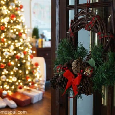 Simple Christmas Decor Home Tour