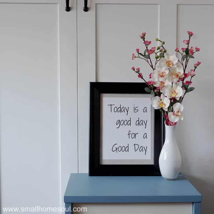 DIY Bathroom Art is a thrifty way to add beautiful decor to any bathroom, office, or kitchen.