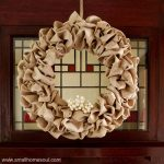 A Seasonal Wreath – the solution to your storage dilemma
