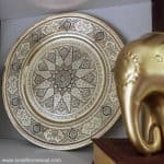 Polished Brass Platter - from Trash to Treasure
