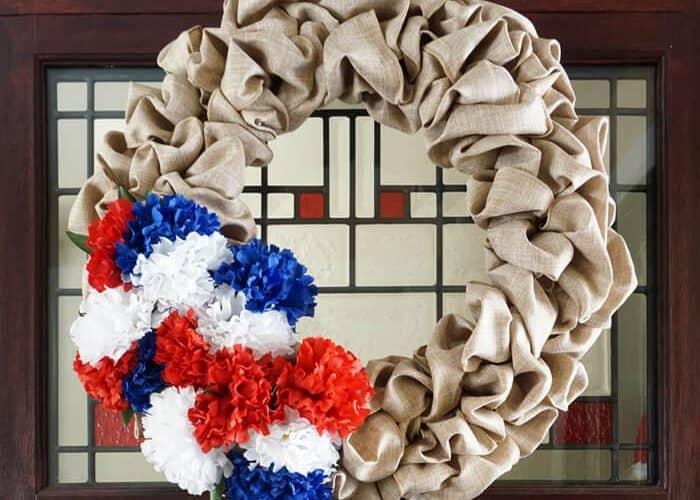 July 4th Wreath – Seasonal Wreath Update