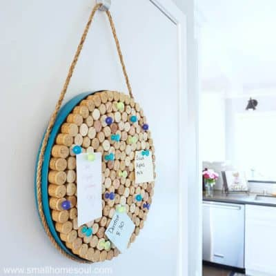 Wine Cork Board – an Easy DIY Project to get Organized