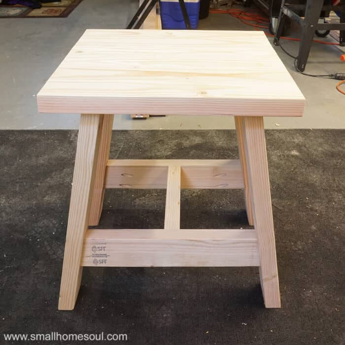 Build A 2x4 Outdoor Table With My Free Plans Small Home Soul