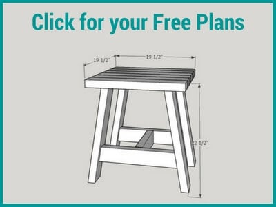 Get free plans for 2x4 Outdoor Table