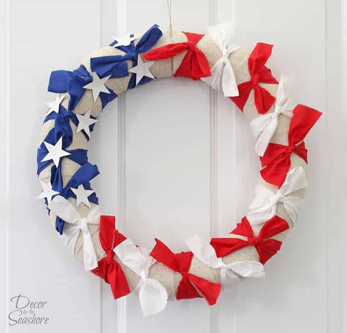 Decor by the Seashore's Easy Patriotic Wreaths Interchangeable Style