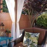 Relaxing Backyard Retreat – Easy & Inexpensive Updates