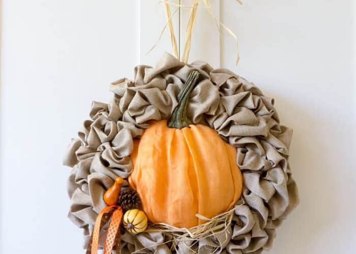 Easy Fall Decor Update for a Seasonal Wreath
