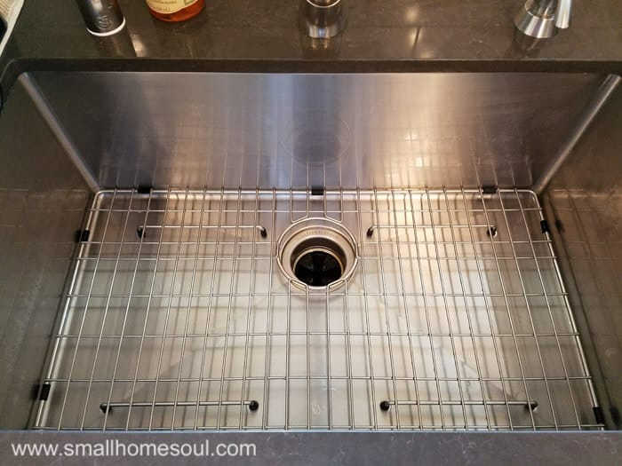 Why you should ditch your sink grid small home soul the kitchen sink grid clean once again workwithnaturefo