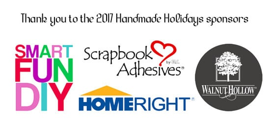 Handmade Holiday Giveaway Sponsors