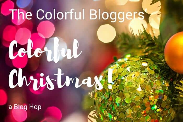 Colorful Bloggers easy ornament updates.
