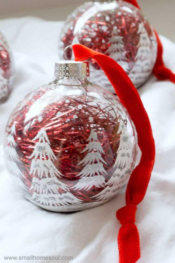 Easy ornament updates closeup.