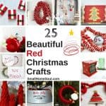 Red Christmas Decor - 25 Beautiful Crafts