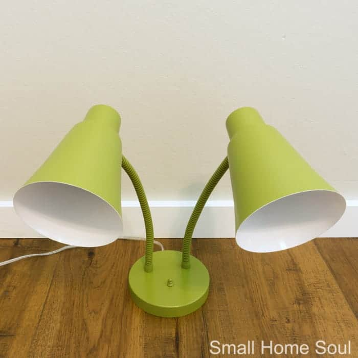 Desk Lamp Makeover Beautiful And Unexpected Color