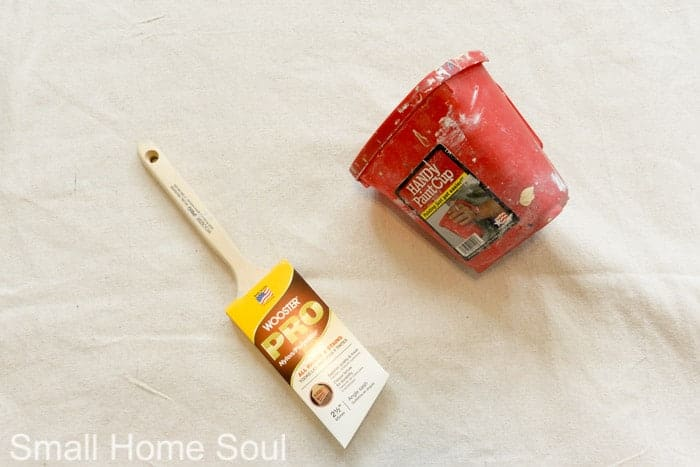 Favorite tools for painting a room.