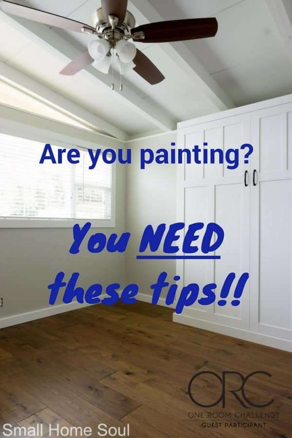 You NEED these tips to paint a room and make it easy and beautiful!