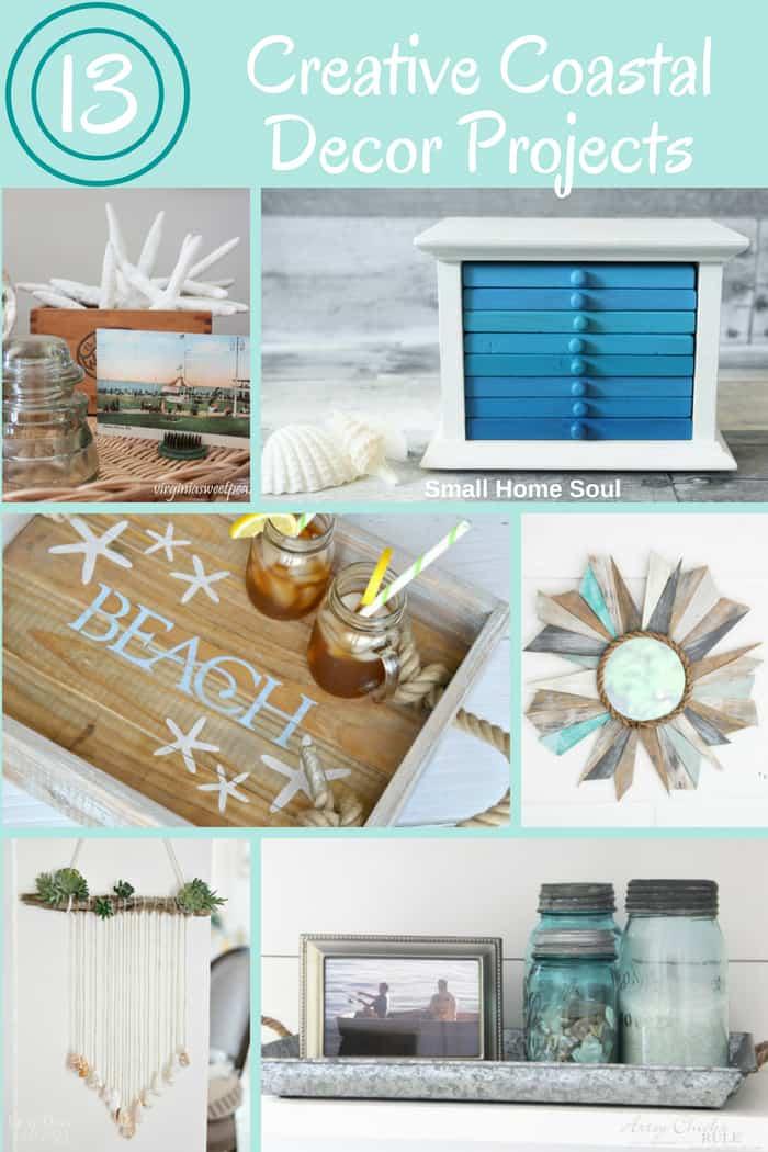 Creative Coastal Decor Projects