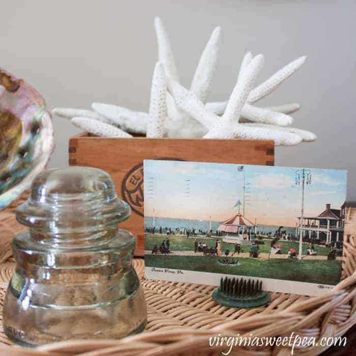 Decorating with creative coastal decor items around your house.