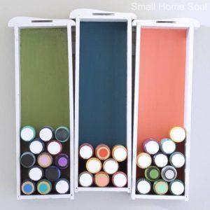 Creative Craft Paint Storage