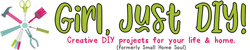Girl, Just DIY Logo
