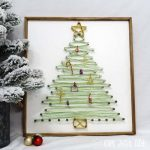 "Wire ""String Art"" Christmas Tree"