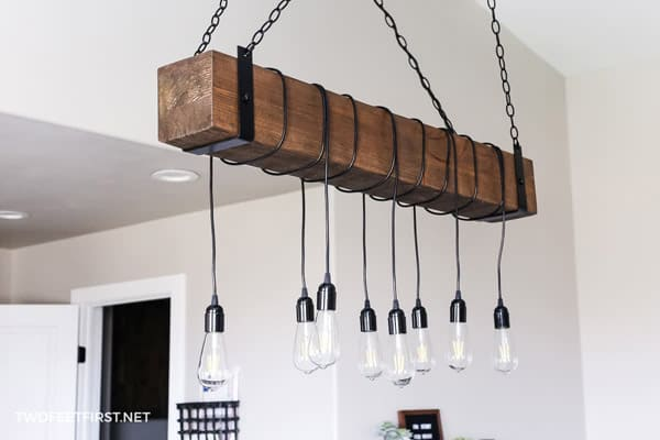 Beam lighting with open bulbs  in Household DIY Projects.